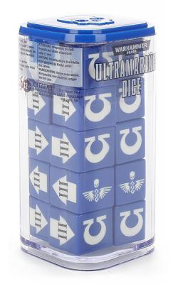 Ultramarines Dice Set