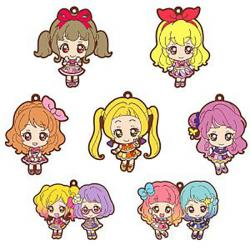 Aikatsu! Series Capsule Rubber Mascot 02