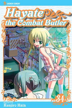 Hayate The Combat Butler Vol 34