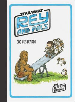 Rey and Pals Postcard Book