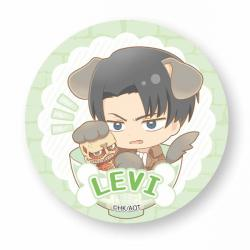 Levi Wanko Meshi Can Badge