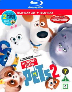 The Secret Life of Pets 2/Husdjurens hemliga liv 2 (Bru-ray3D+BR)