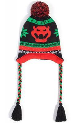 Super Mario Ski Beanie Bowser Laplander