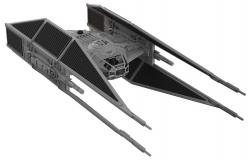 Model Kit with Sound & Light Up Kylo Ren's TIE Fighter