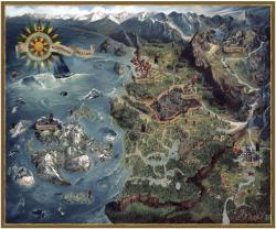The Witcher 3 Wild Hunt Puzzle Northern Realms Map