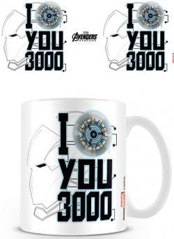 Avengers: Endgame Mug I Love You 3000