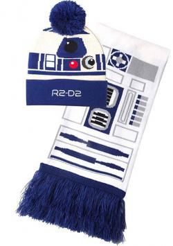 Beanie & Scarf Set R2-D2