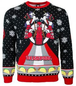 Deadpool Unicorn Christmas Jumper