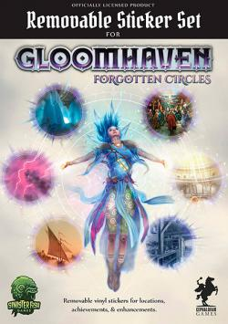 Gloomhaven Forgotten Circles - Removable Sticker Set