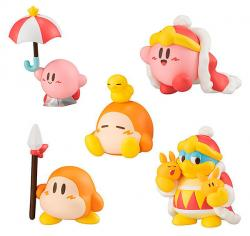 Kirby's Dream Land Pupupu Friends Figure Collection 2 Capsule