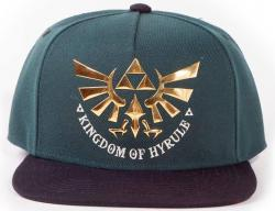 Snap Back Cap Green Hyrule