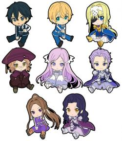 Alicization Petanko Trading Rubber Strap Vol. 2