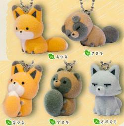 Tanuki & Fox Frocky Mascot 2 Capsule