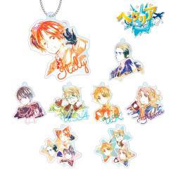 Trading Ani-Art Acrylic Key Chain