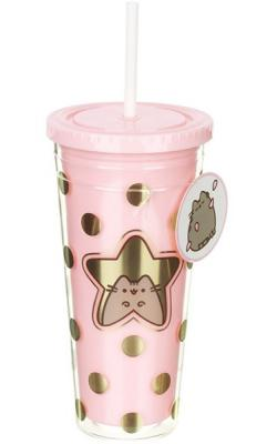 Pusheen Cup & Straw Star