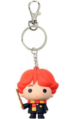Harry Potter Cutie Collection Rubber Keychain Ron Weasley