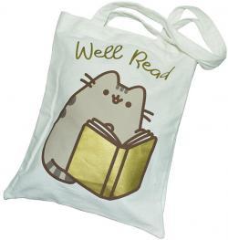 Pusheen Tote Bag Well Read