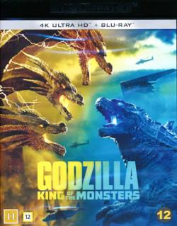 Godzilla II: King of the Monsters (4K Ultra HD`Blu+ray)