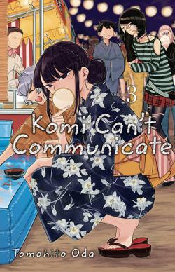 Komi Can't Communicate Vol 3