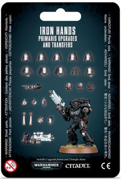 Iron Hands Primaris Upgrades & Transfers