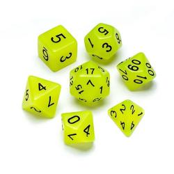 Fluorescent Jade - Numbers: Black