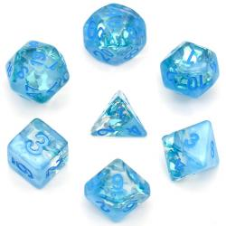 Season Dice Summer Rain (set of 7 dice)