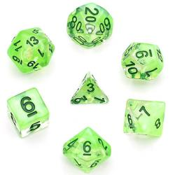 Season Dice Spring Leaf (set of 7 dice)