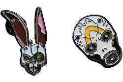 Collectors Pins 2-Pack Bunny & Psycho Mask