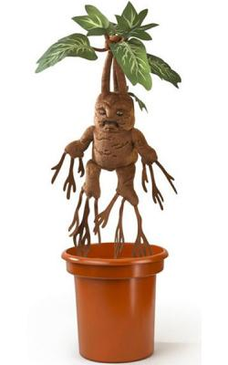Harry Potter Interactive Plush Figure Mandrake 40 cm