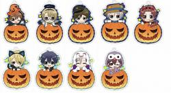 Notty Series Trading Acrylic Key Chain A Pumpkin