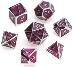 Metal Silver Series: Pink