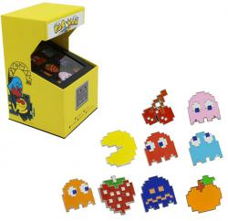 Pac-Man Arcade Pin Badge Set