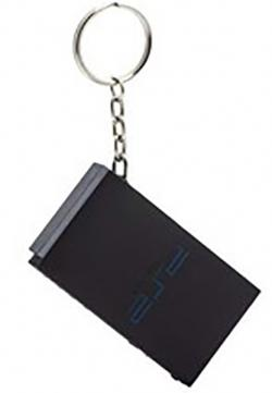 PS2 Console Key Ring