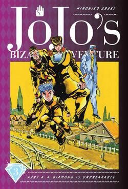 Jojo's Bizarre Adventure Diamond is Unbreakable Vol 3