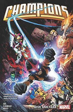 Champions by Jim Zub Vol 2: Give and Take