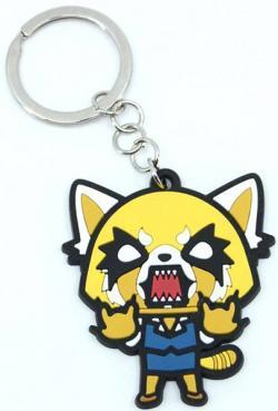 Rubber Keychain Rage Retsuko