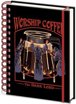 Steven Rhodes Wiro Notebook A5 Worship Coffee