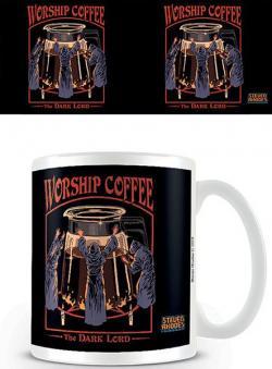 Steven Rhodes Mug Worship Coffee