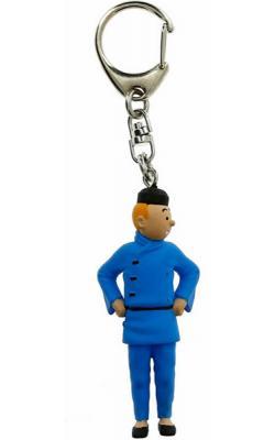 Nyckelring - Tintin blå lotus