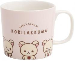 Rilakkuma Mug: Feels so Easy Korilakkuma