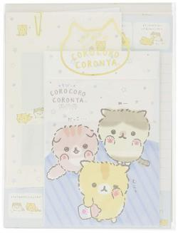 Corone Bread Cat Letter Set: Kittens