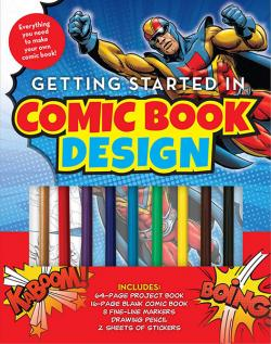 Getting Started in Comic Book Design
