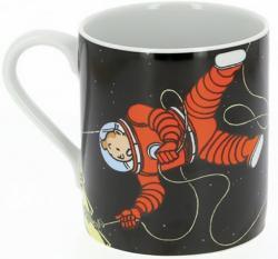 Mugg - Tintin & Haddock i rymden.