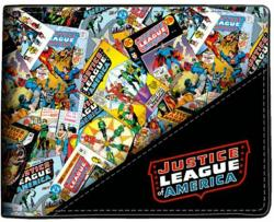 Justice League All Over Bifold Wallet