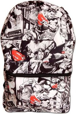 Superman Sublimated Backpack