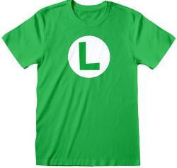 Super Mario Luigi Badge