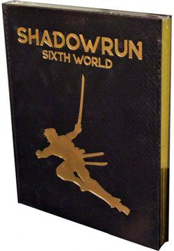 Shadowrun RPG 6th Edition Limited Edition Core Rulebook