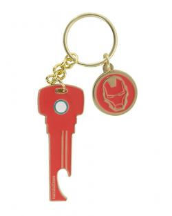 Iron Man Bottle Opener Keyring