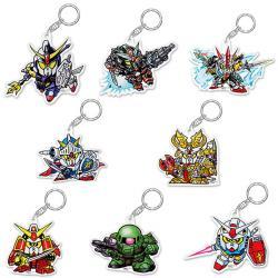 SD Gundam Acrylic Key Chain