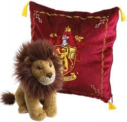 Harry Potter House Mascot Cushion with Plush Figure Gryffindor